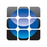 Símbolo del techology de Digitaces Foto de archivo libre de regalías