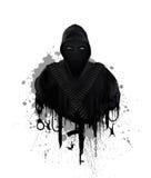 Símbolo del terrorismo global ilustración del vector