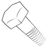 Símbolo del tornillo libre illustration