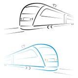 Símbolo del tren libre illustration