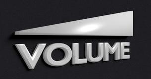 Símbolo del volumen imágenes de archivo libres de regalías