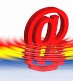 Símbolo del Web   ilustración del vector