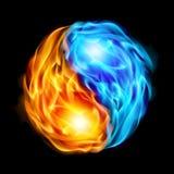 Símbolo del yin y de yang Fotografía de archivo libre de regalías