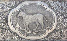 Símbolo del zodiaco de tradicional tailandés Imágenes de archivo libres de regalías