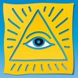 Símbolo divino stock de ilustración
