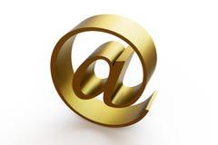 Símbolo do ícone do email Fotos de Stock