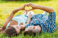 Símbolo do amor Foto de Stock