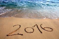 Símbolo do ano 2016 Imagem de Stock
