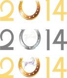 Símbolo do ano novo Imagens de Stock