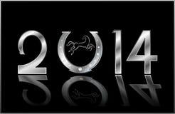 Símbolo do ano novo Foto de Stock Royalty Free