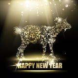 Símbolo do ano novo Fotos de Stock