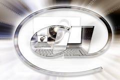 Símbolo do computador. Fotos de Stock Royalty Free