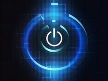 Símbolo do computador de Digitas Foto de Stock