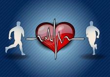Símbolo do coração Fotografia de Stock Royalty Free