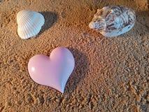 Símbolo do coração Imagens de Stock Royalty Free