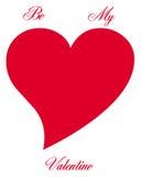 Símbolo do coração Fotos de Stock Royalty Free