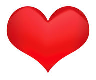 Símbolo do coração Foto de Stock Royalty Free