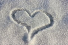 símbolo do coração do amor Fotos de Stock