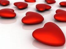 Símbolo do coração do amor Foto de Stock Royalty Free