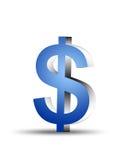 Símbolo do dólar Imagem de Stock
