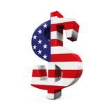 Símbolo do dólar americano Imagens de Stock Royalty Free