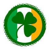 Símbolo do dia do St. Patrick ilustração stock
