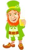Símbolo do dia do St Patrick Foto de Stock