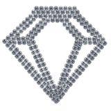 Símbolo do diamante Imagem de Stock