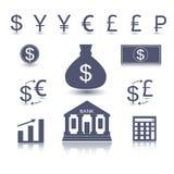 Símbolo do dinheiro do vetor Imagem de Stock Royalty Free