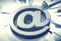 Símbolo do email ilustração royalty free