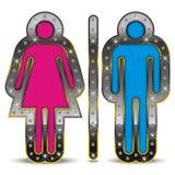 Símbolo do género Imagens de Stock