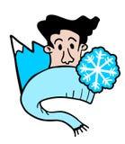 Símbolo do gelo Fotos de Stock