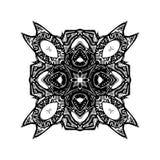 Símbolo do Glyph da pele animal ilustração stock