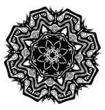 Símbolo do Glyph da semente de Tiki ilustração royalty free