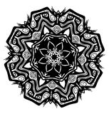 Símbolo do Glyph da semente de Tiki Fotografia de Stock