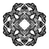 Símbolo do Glyph da serpente ilustração royalty free