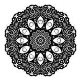 Símbolo do Glyph do olhar da noite Foto de Stock Royalty Free