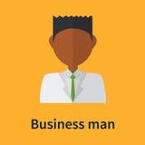 Símbolo do homem de negócio Imagens de Stock