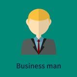 Símbolo do homem de negócio Fotos de Stock Royalty Free