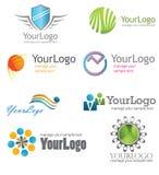 Símbolo do logotipo Fotos de Stock Royalty Free