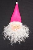 Símbolo do Natal e do ano novo Santa Claus decorativa Imagens de Stock Royalty Free