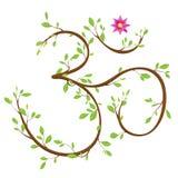 Símbolo do OM ilustração stock