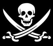 Símbolo do pirata ilustração do vetor