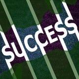 Símbolo do sinal do sucesso Fotografia de Stock Royalty Free