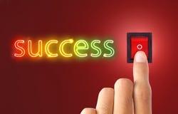 Símbolo do sucesso Foto de Stock