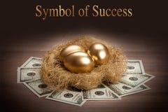 Símbolo do sucesso Imagens de Stock Royalty Free