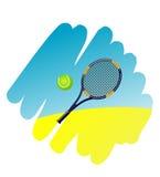 Símbolo do tênis Fotografia de Stock