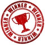 Símbolo do vencedor Imagens de Stock