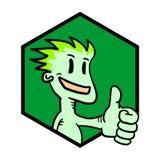 Símbolo do vencedor Imagem de Stock