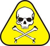 Símbolo do veneno ilustração royalty free